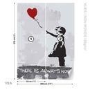 Banksy Street Art Balloon Heart Graffiti