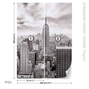 City Skyline Empire State New York
