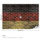 Brick German Flag