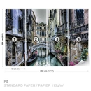 City Venice Canal Bridge Art