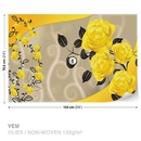 Roses Yellow Flowers Abstract