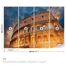 Colosseum City Sunset