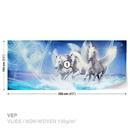 Winged Horse Pegasus Blue