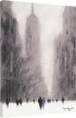 Jon Barker - Heavy Snowfall, 5th Avenue, New York