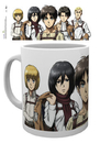 Attack On Titan - Lineup