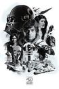 Star Wars - Montage (40th Anniversary )