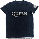 Queen - Logo & Crest Applique Slub