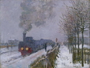 Train in the Snow or The Locomotive, 1875