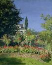 Flowering Garden at Sainte-Adresse, c.1866