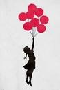 Banksy - Floating Girl