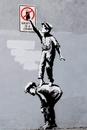 Banksy - Grafitti Is A Crime